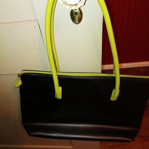 Tolblanc Leather Tote Blue Green